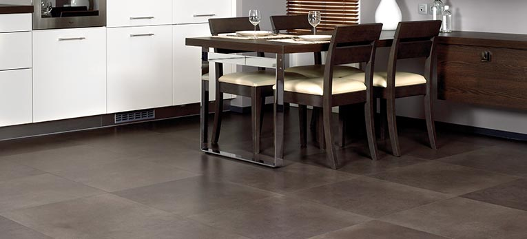 Dare to go square. Laminate Arte Concrete look
