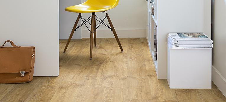 Tips for a clean room. Quick-Step Laminate Flooring, Creo