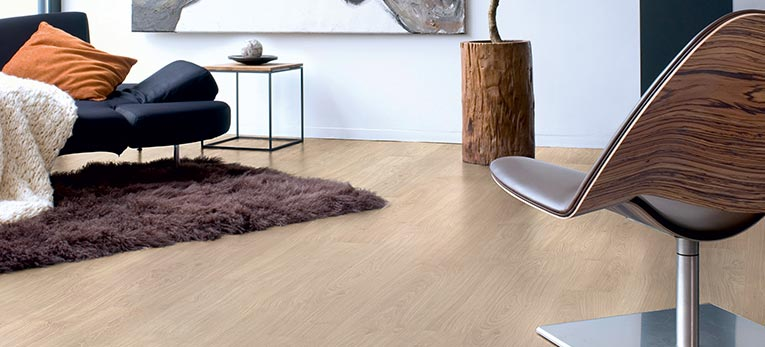 Protect your floor as best you can: Use floor protection