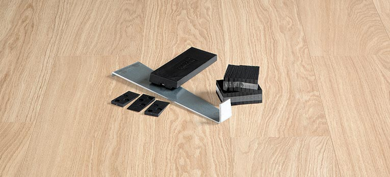 Tool you need to install a Quick-Step floor
