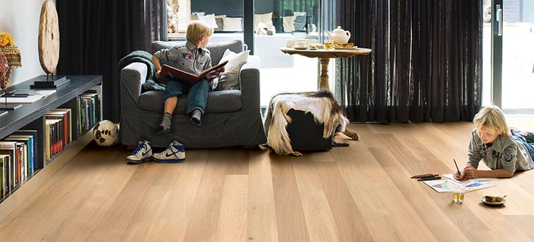 Laminate and floor heating an ideal combination
