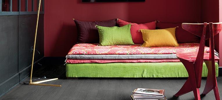 Het effect van kleur in je interieur: rood | Quick-Step.be