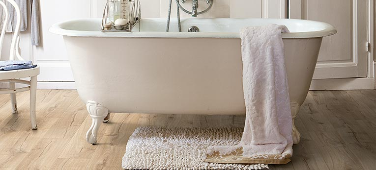 Lovely Bring The Warmth Of Wood To Your Bathroom With Quick Step Laminate Or Vinyl