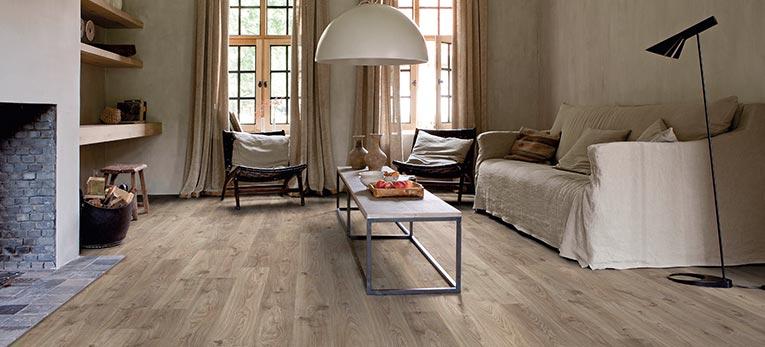 Steam vinyl flooring