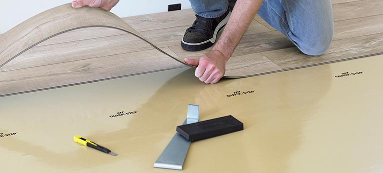 Which underlay with luxury vinyl tiles