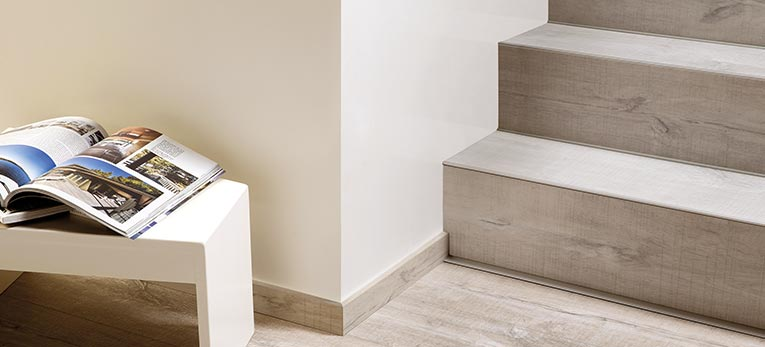 Installing quick step vinyl flooring on your stairs for Quick step flooring ireland