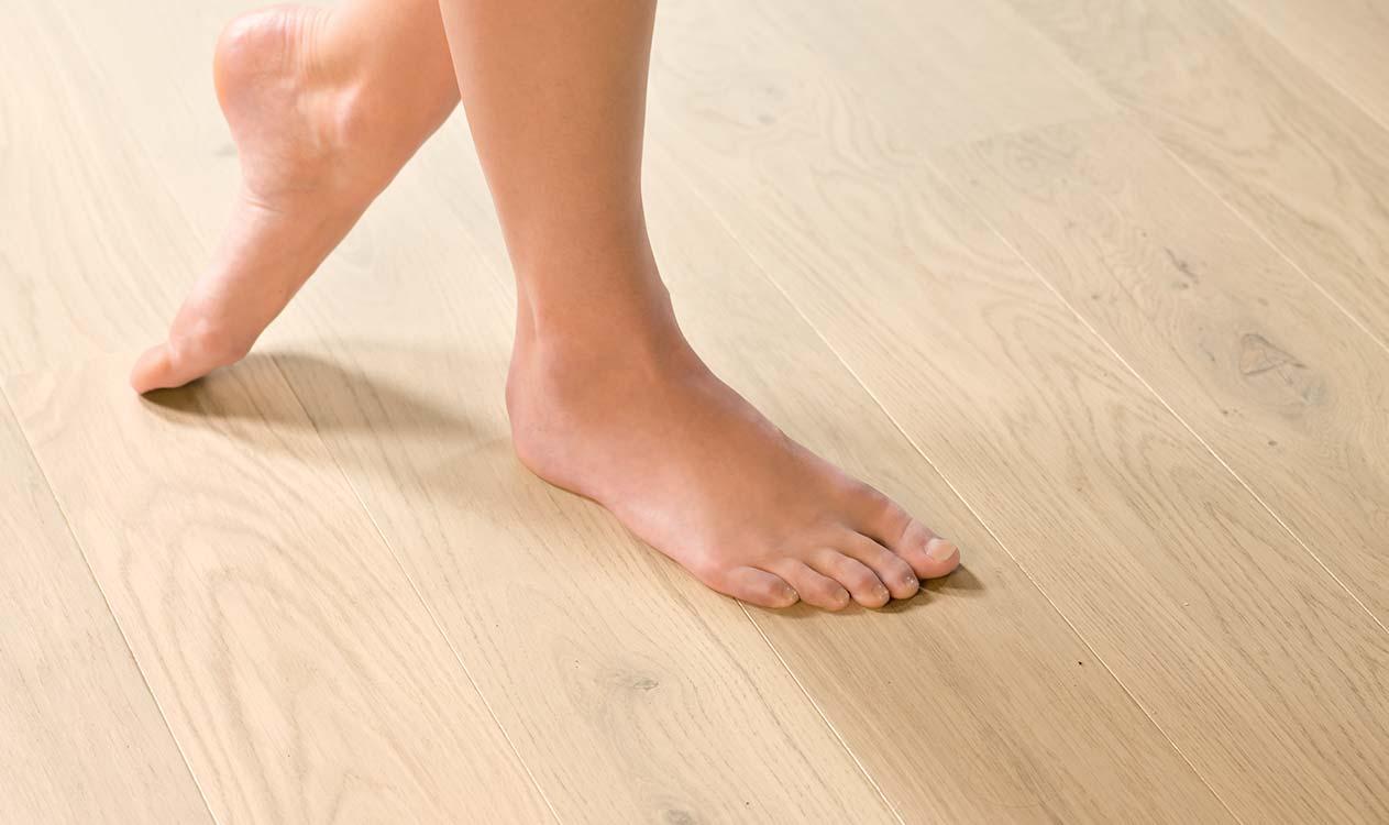 Je vloer boven vloerverwarming plaatsen quick step be