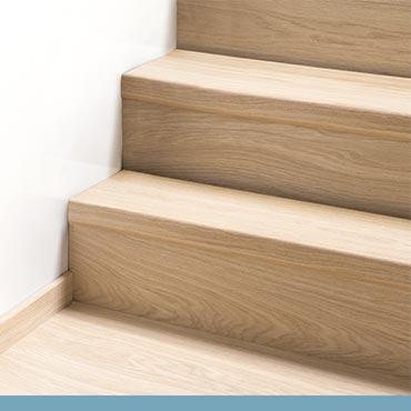 Laminát na schodech
