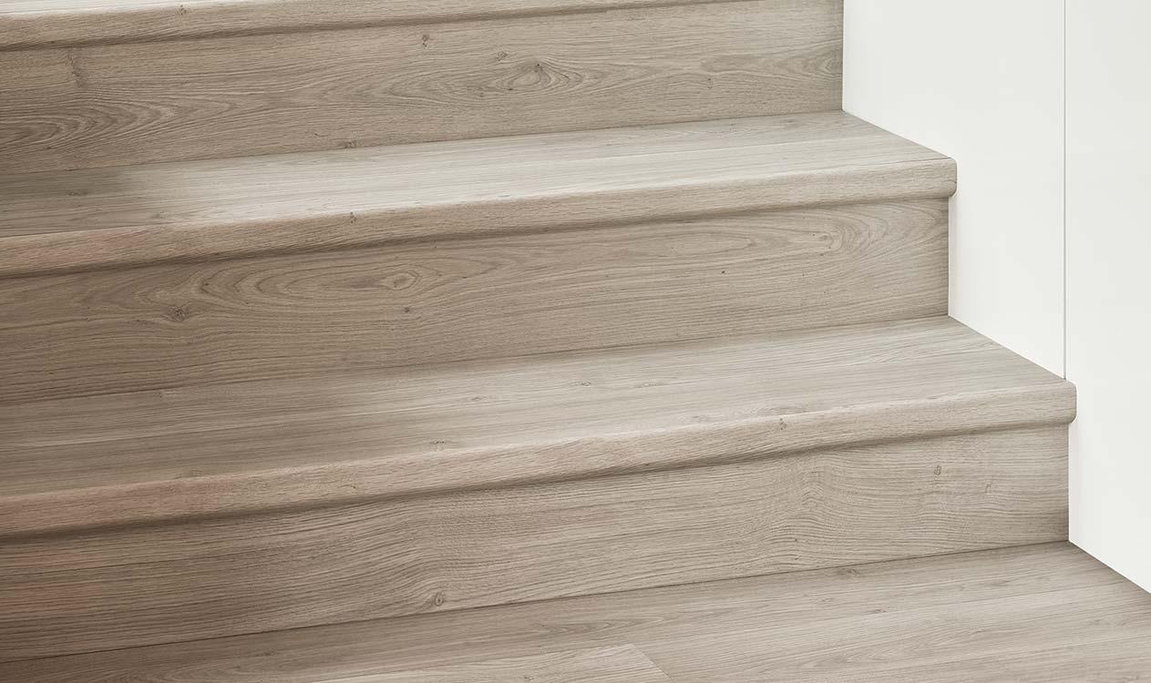 Kan ik quick step laminaat op een trap plaatsen?