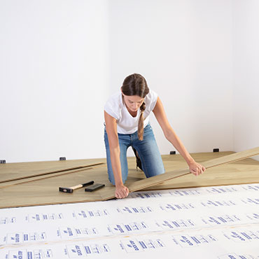 How to install your laminate floor