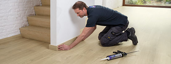Installing Your Laminate Floor, How To Lay Laminate Flooring Quick Step