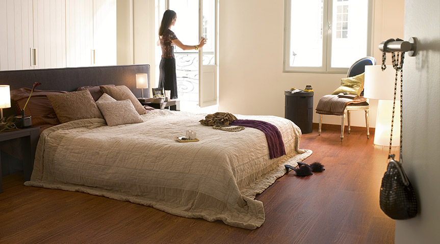 bedroom floor ideas - Bedroom Laminate Flooring