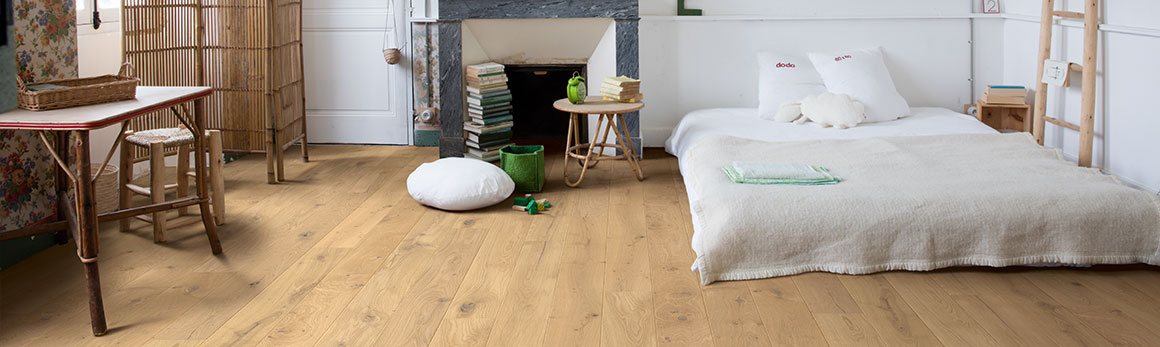Choose the perfect bedroom flooring