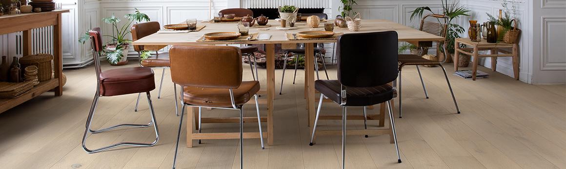 Comment choisir le sol parfait pour votre salle à manger