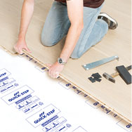 fast way to install herringbone floor