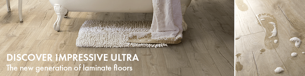 Quick-Step Impressive Ultra water-resistant laminate flooring