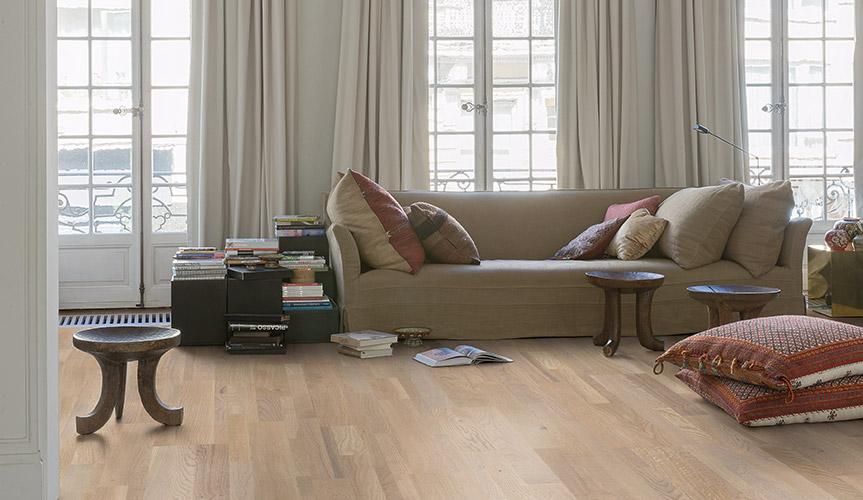 Beau Living Room Flooring