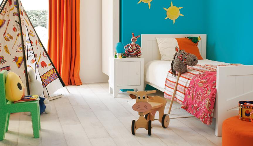 De perfecte vloer voor de kinderkamer