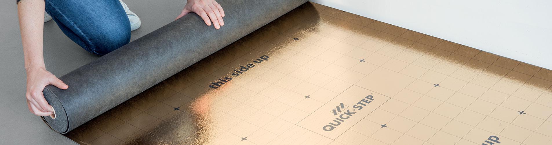 comment choisir la sous couche id ale pour votre sol. Black Bedroom Furniture Sets. Home Design Ideas