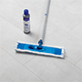 Quick-Step vinyl floor tiles, easy maintenance