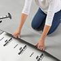 Quick-Step vinyl floor tiles, easy installation