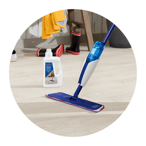 Use The Dedicated Quick Step Cleaning Kit