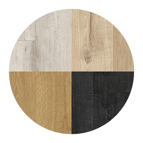 Laminate flooring, variety of beautiful patterns and colours