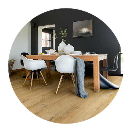 Laminate flooring, trending today, classics tomorrow