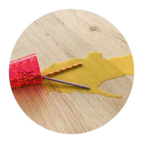 Качественное ламинированное напольное покрытие, устойчивое к образованию пятен