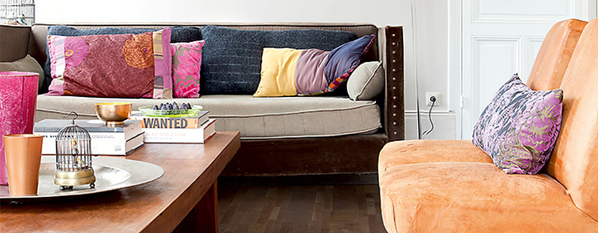 Het effect van kleur in je interieur oranje quick for Kleur in je interieur