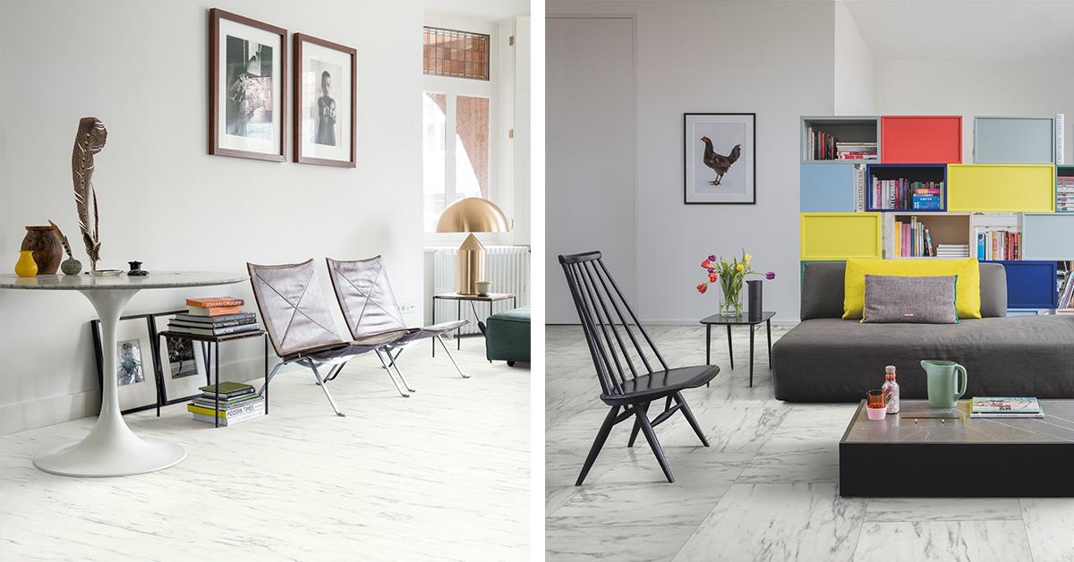 New Trends In Imitation Marble Beautiful Laminate Timber Vinyl Floors