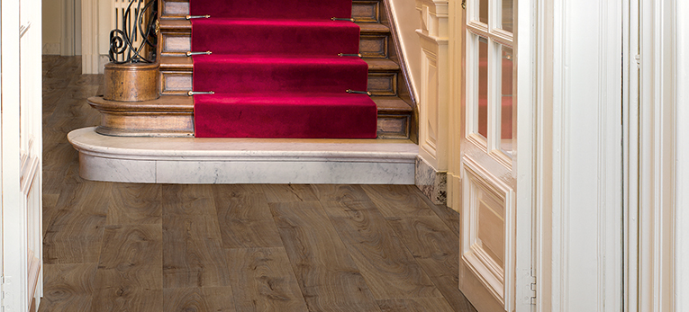 Quick-Step Laminate Largo Cambridge oak dark, hallway