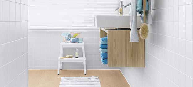 Quick-Step Vinyl Balance Click Select oak light, bathroom