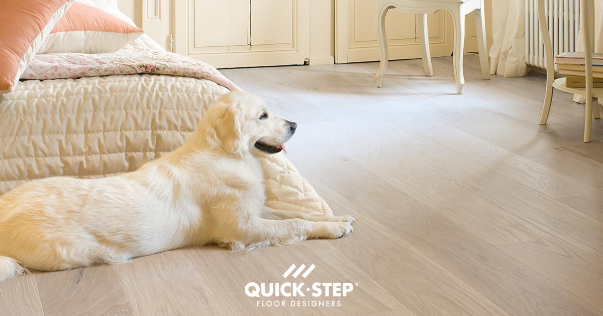 Hoe verwijder je urine van een houten vloer?