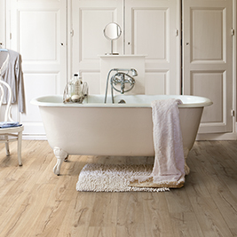 The perfect floor for every room quick for Quick step salle de bain