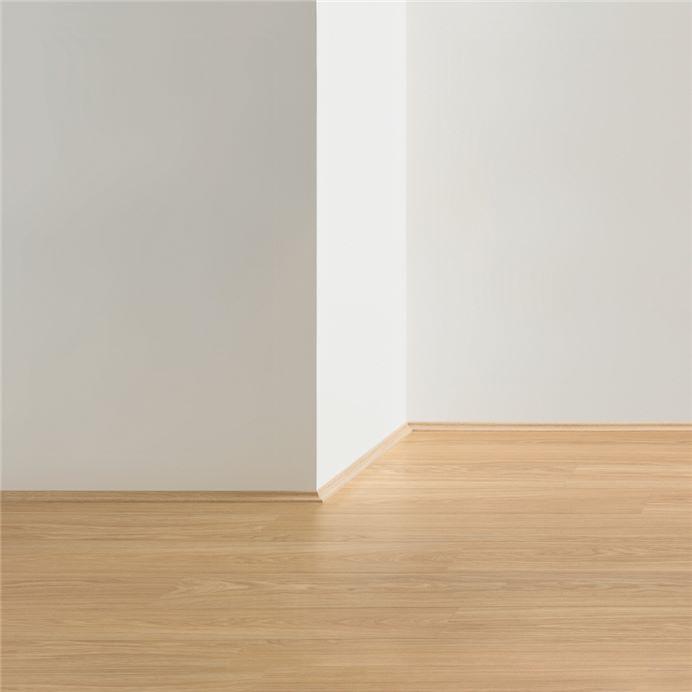 Qsscot01480 White Ash 7 Strip, White Beading For Laminate Flooring