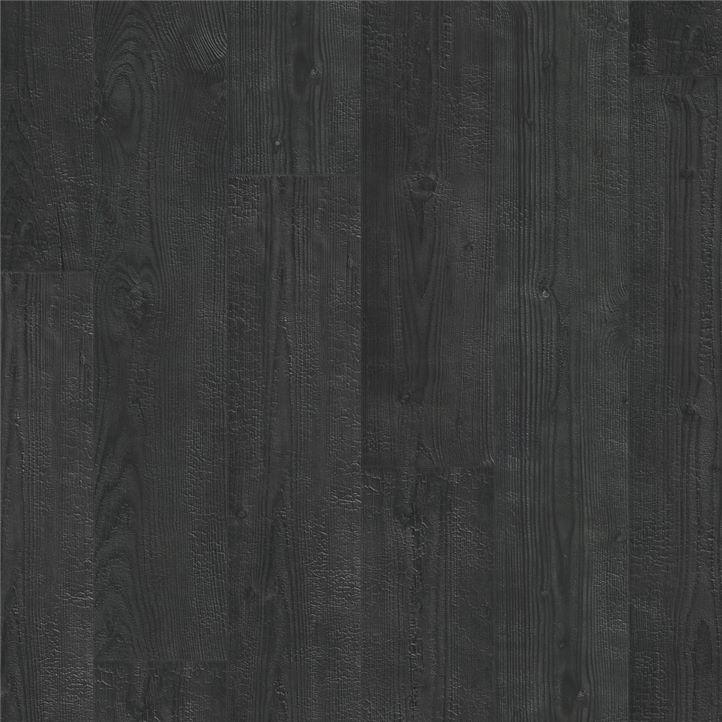 Afbeelding van vloersoort Gebrande planken