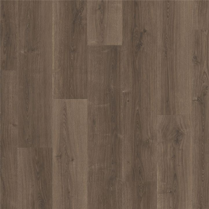 Afbeelding van vloersoort Geborstelde eik bruin