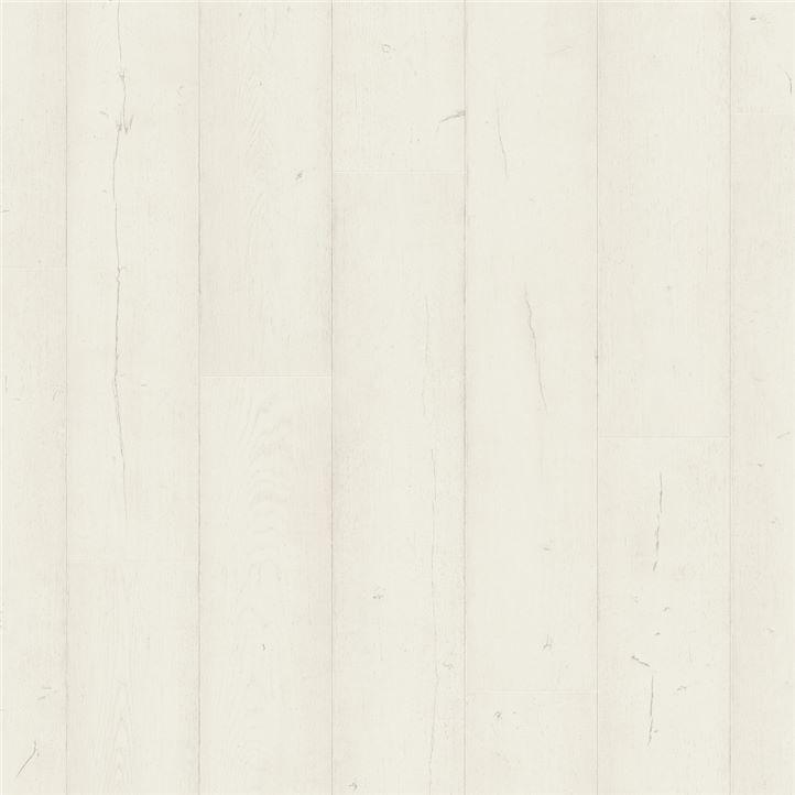 Afbeelding van vloersoort Eik geverfd wit