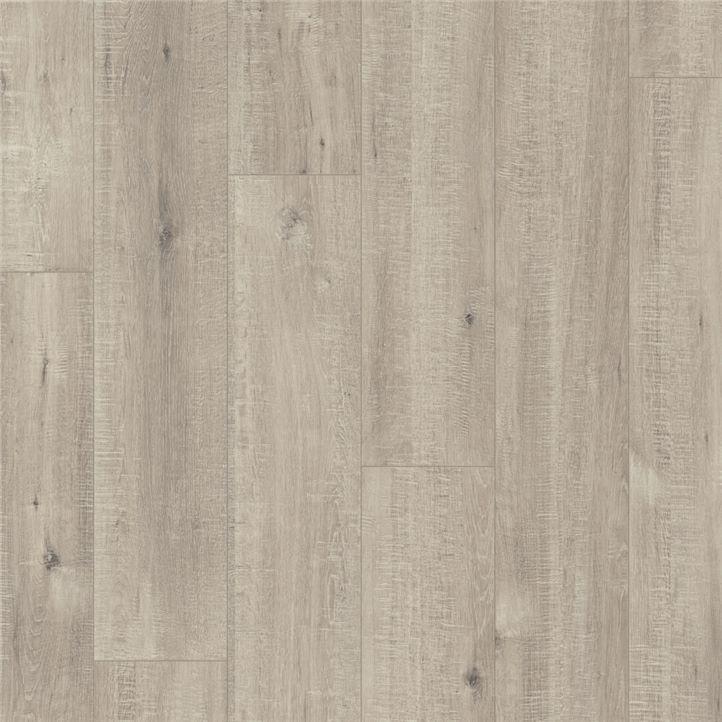 Afbeelding van vloersoort Eik grijs met zaagsneden